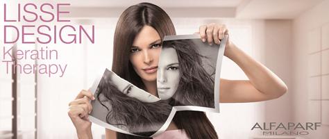 Lisse Design Keratin Therapy - keratinos hajsimító kezelés - ZINZY Szépségszalon Dunakeszi